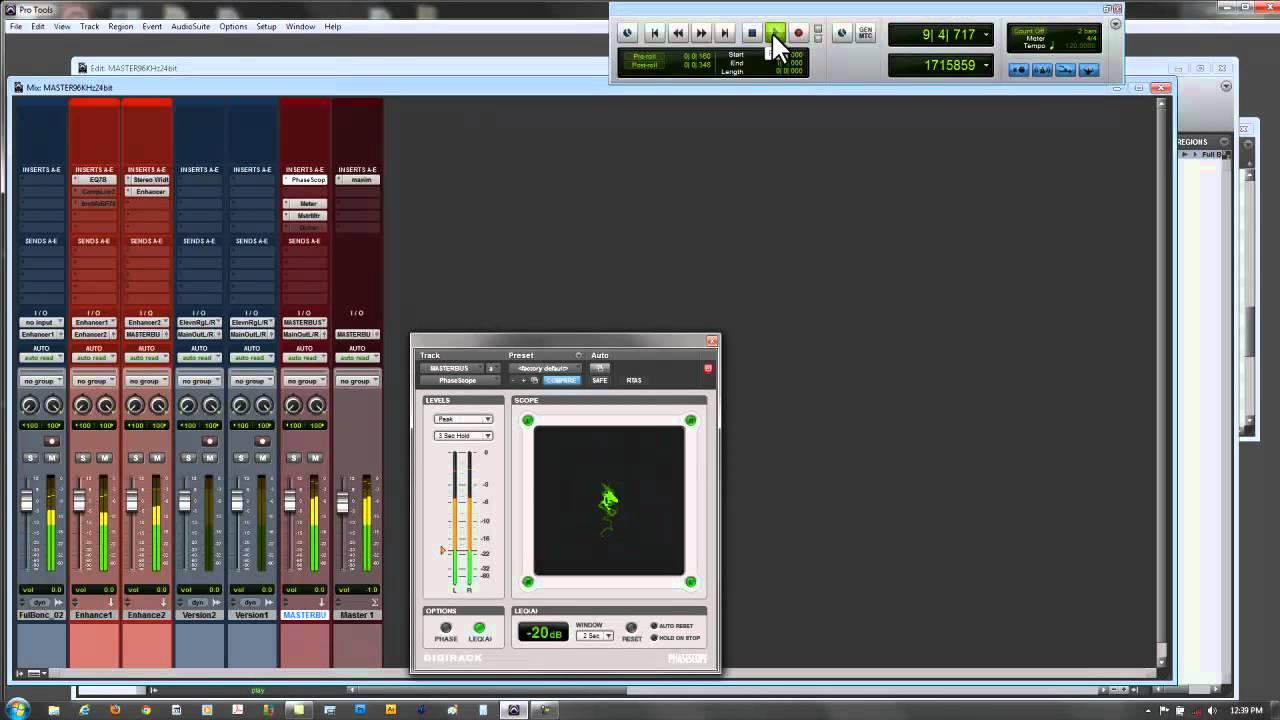 pro tools 12 11 10 9 8 mastering session detailed setup youtube. Black Bedroom Furniture Sets. Home Design Ideas
