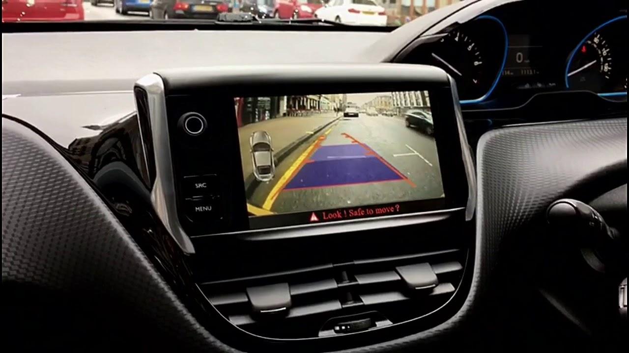 Peugeot 208 2008 Reversing Reverse Camera Kit 2017 Onwards Retrofit Youtube