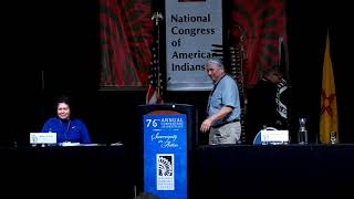 NCAI 2019 NATIONAL CONGRESS OF AMERICAN INDIANS  Candidates for 1st Vice President Speak