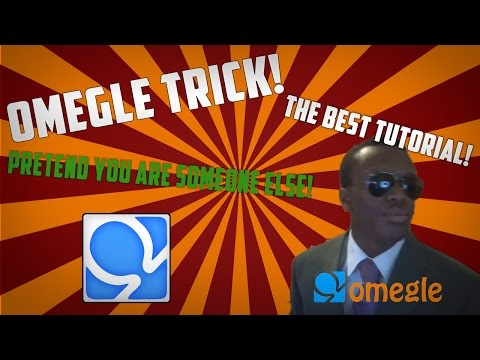OMEGLE TRICK! Pretend you're someone else! UNDETECTABLE FAKE CAMERA! from YouTube · Duration:  2 minutes 58 seconds