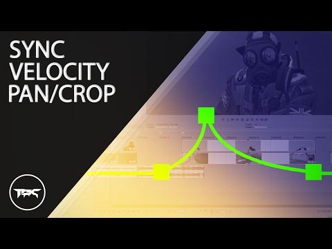 "SONY VEGAS: ""HOW TO SYNC / VELOCITY & PANCROP"" -  BASICS"