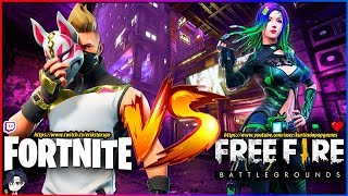 Fortnite VS Free Fire 🔥 EPIC BATTLE WHAT WILL BE the MOST FUN!?