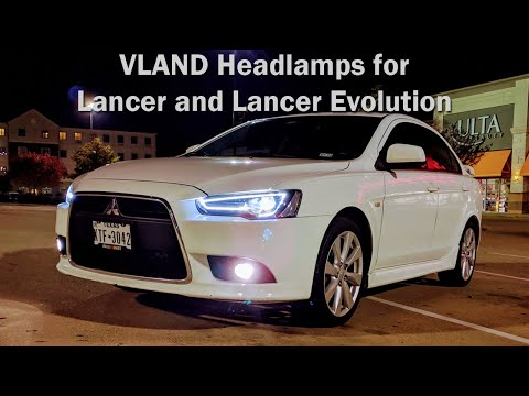 VLAND headlamps for my Lancer