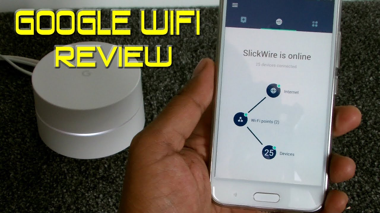 Google Wifi - App Review & Features
