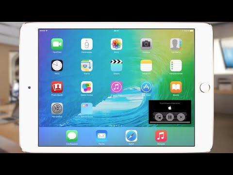 Картинка в Картинке на iPad Air 2 от Soft Club