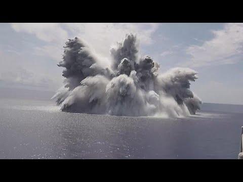 شاهد: متفجرات وذخيرة حية لاختبار أحدث حاملة طائرات في البحرية الأمريكية…  - نشر قبل 3 ساعة