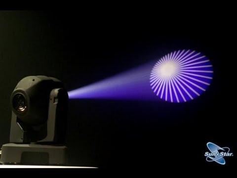 COMO proyectar tu logo sonidero o cualquier imag. en las moving head o luces de blufftitler