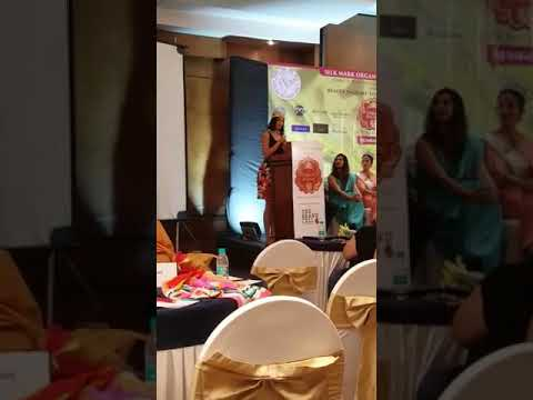 Miss India Globe Dimple Patel at Silk Mark Organisation event dedicated to Women Empowerment!!!