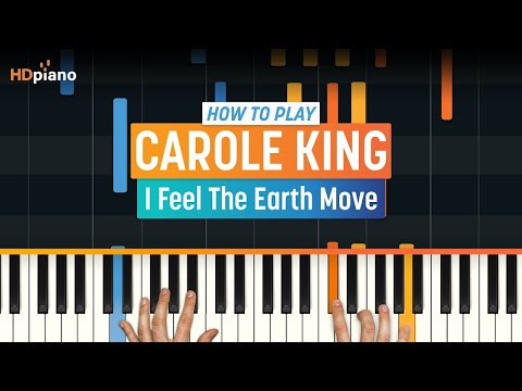 """How To Play """"I Feel The Earth Move"""" by Carole King 