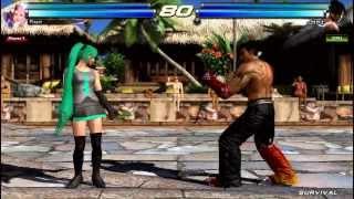 家庭用PS3鉄拳タッグトーナメント2よりネタカスタマイズ紹介 今回はア...