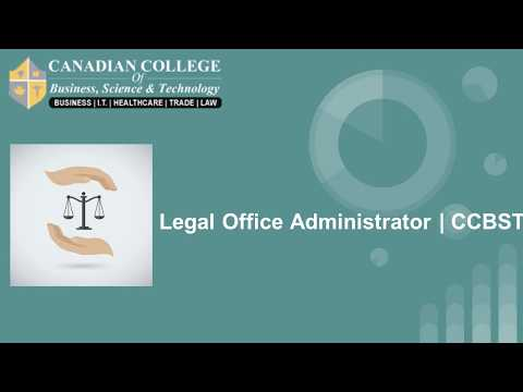 Legal Office Administrator | CCBST