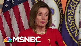 Nancy Pelosi Checks President Donald Trump | The Last Word | MSNBC