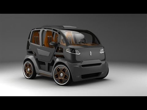 Mirrow Provocator The Future City Cars Concept Youtube
