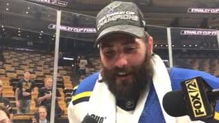 Maroon talks about the Stanley Cup victory