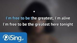 Sia - The Greatest (karaoke iSing)