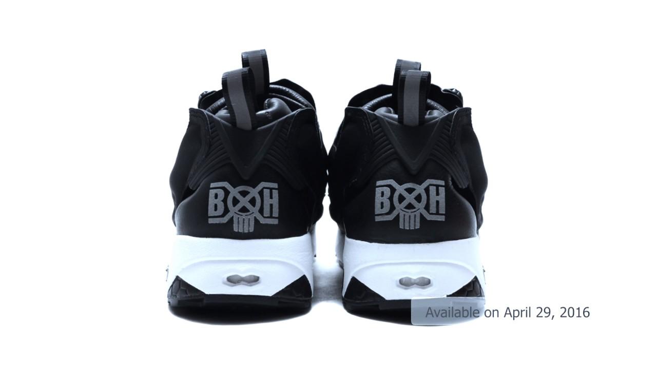 68e02e3dc524 Reebok Instapump Fury x ATMOS x Bounty Hunter x Packer Shoes - YouTube