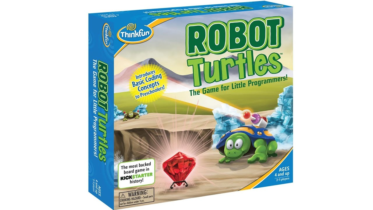 Robot Turtles | The Board Game that Teaches Programming to Kids