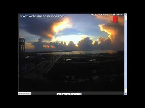Anomaly Skies above Fiesta, Cancun Mexico Oct. 8, 2016