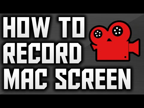 How To Record Your Mac Screen For FREE 2016! (Simple)