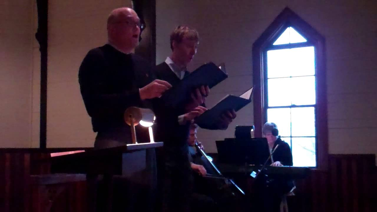 """Download Joel Kincaid and Seth Hickel singing """"Carol of the Magi,"""" words and music by John Rutter.MP4"""