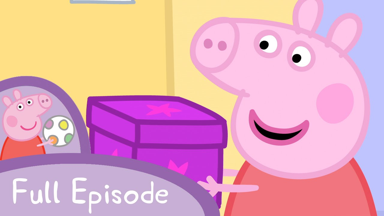 peppa pig secrets  full episode  youtube doughnut clipart with a face donut clipart border