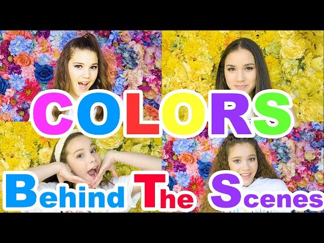 Haschak Sisters - Colors (Behind The Scenes)