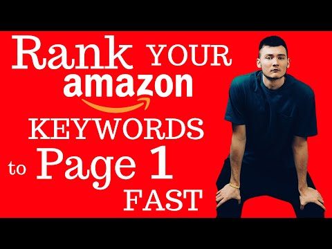 AMAZON KEYWORDS (HOW TO FIND AND RANK AMAZON FBA 2018 PAGE 1 FULL GUIDE)