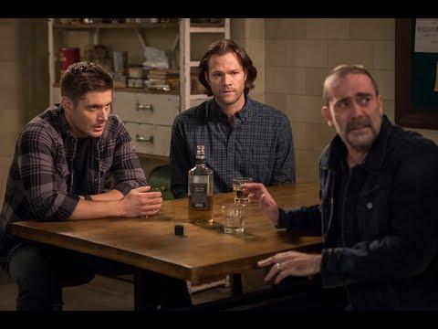 Supernatural 14X13 | John Winchester Family Reunion Scene |