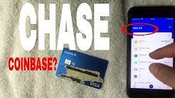 ✅  Can You Use Chase Debit On Coinbase To Buy Bitcoin 🔴