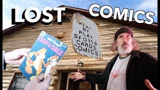 What's Inside? - COMIC BOOK STORE CLOSED FOR 20 YEARS!