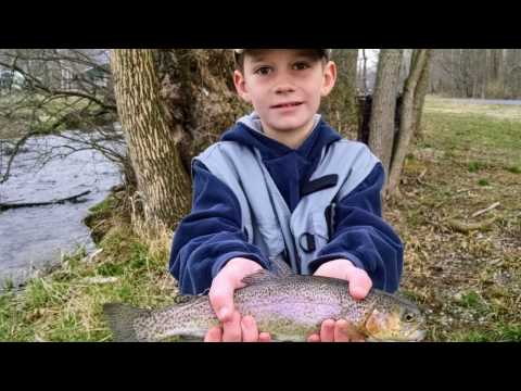 Trout Fishing Mentored Day In Franklin County, PA
