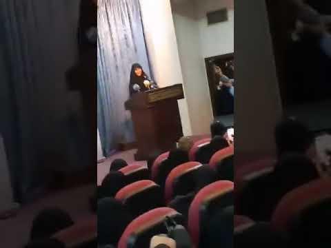 ابنة قاسم سليماني تتكلم اللهجة اللبنانية بطريقة لافتة (فيديو)