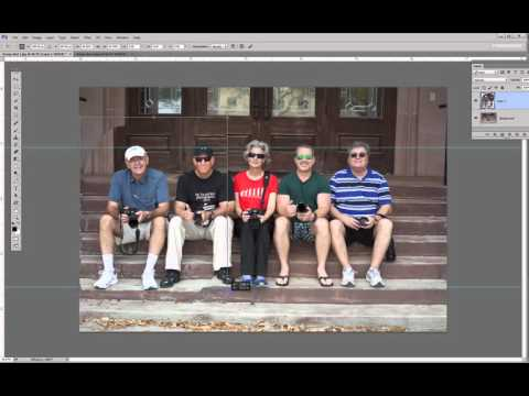 How To Add A Person To A Photo - 10 Minute Photoshop Tip By Mike McNaughton