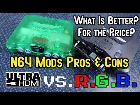 N64 Ultra HDMI & RGB Mods Pros & Cons - Which Is Worth Your Money?