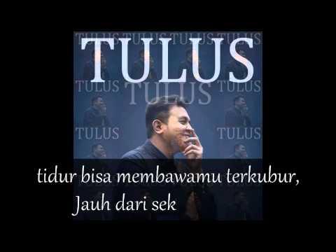 Tulus - Bunga Tidur With Lyrics.