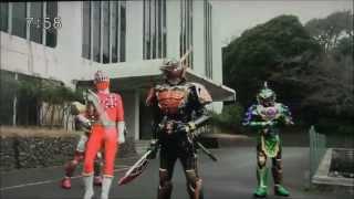 烈車戦隊トッキュウジャーVS仮面ライダー鎧武 春休み合体SP2