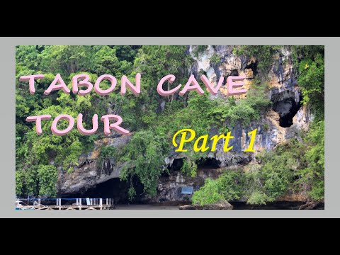 The Unforgettable Tour (Tabon Cave, Palawan,Phils.)   PART 1