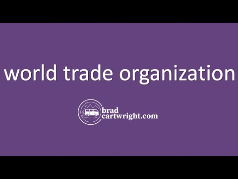 Gains from Trade Series:  The World Trade Organization (WTO)