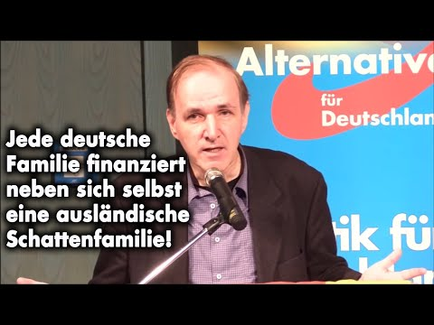 Deutsche gehen arbeiten, Migranten zum Sozialamt! | Dr. Gottfried Curio