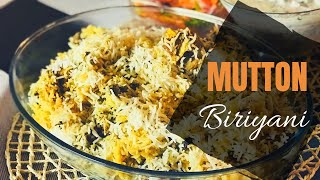 Mutton Biriyani with less oil in Pressure Cooker
