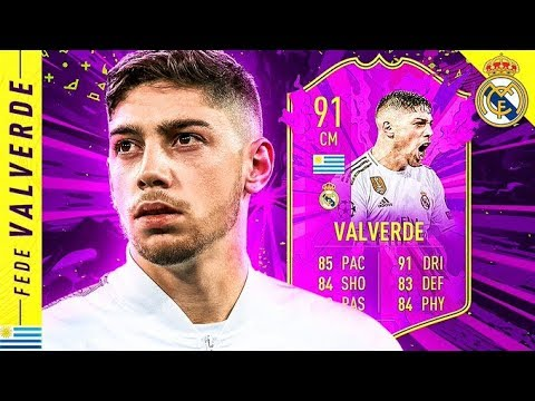 WORTH 1 MILLION COINS?! 91 FUTURE STARS VALVERDE REVIEW! FIFA 20 Ultimate Team