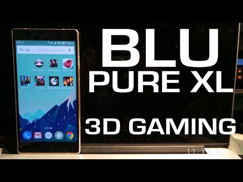 BLU PURE XL - 3D GAMING PERFORMANCE of Helio X10