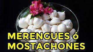 merengues o mostachones