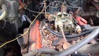 1970 Chevy Impala First Start In 23 Years 350/350 Turbo