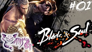 Blade & Soul - Kung Fu Master Gameplay - Part 1 - Leveling