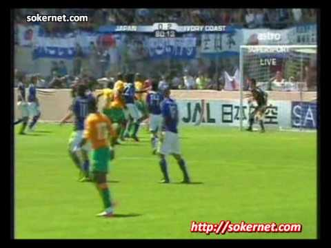 Japan 0-2 Ivory Coast WORLD CUP 2010 Warm up [All Goals]
