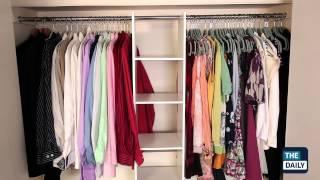 Как недорого обустроить гардеробную комнату(У вас кругом валяются вещи, и вы никогда не можете ни чего найти. Организуйте свое гардеробную по всем прави..., 2013-02-20T11:04:41.000Z)