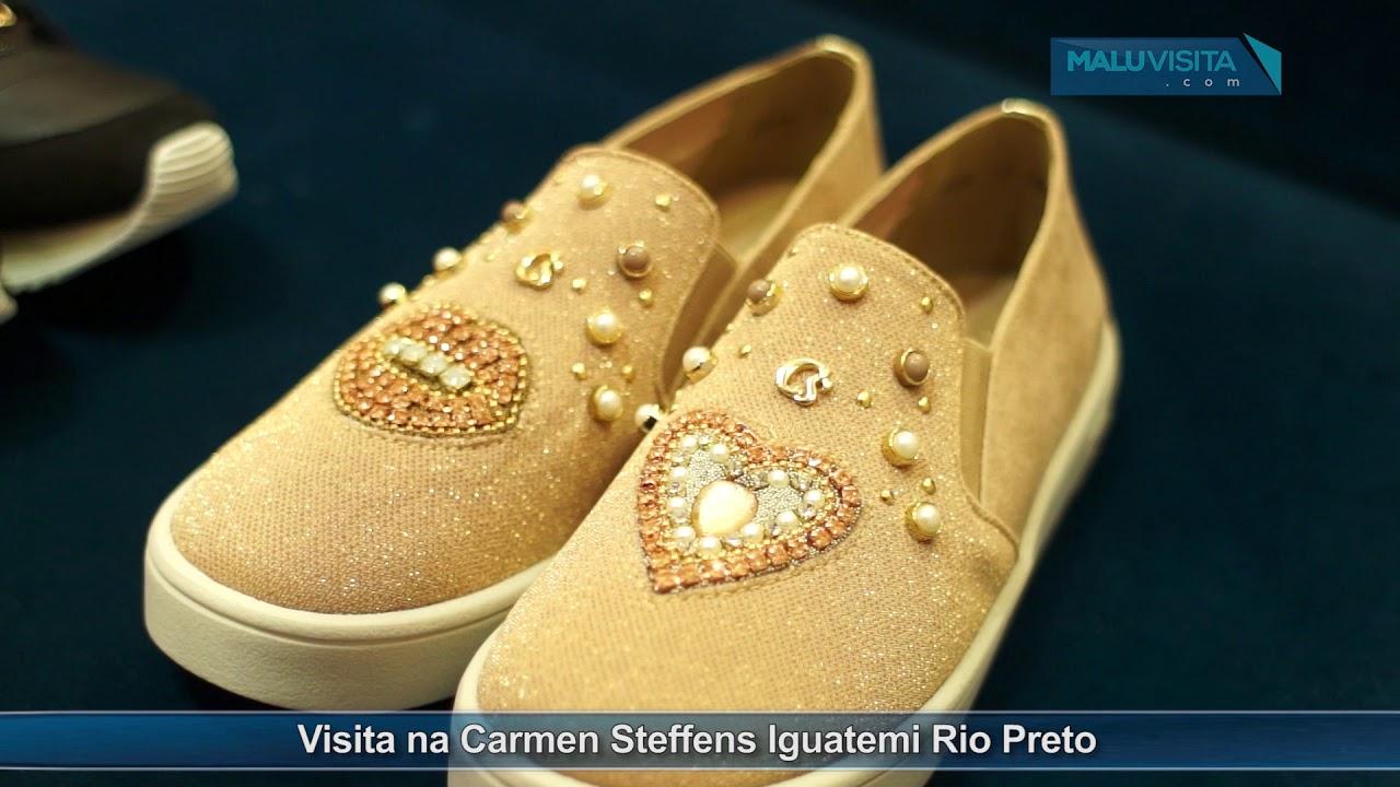 b87c32b59 Visita na Carmen Steffens Iguatemi Rio Preto - YouTube