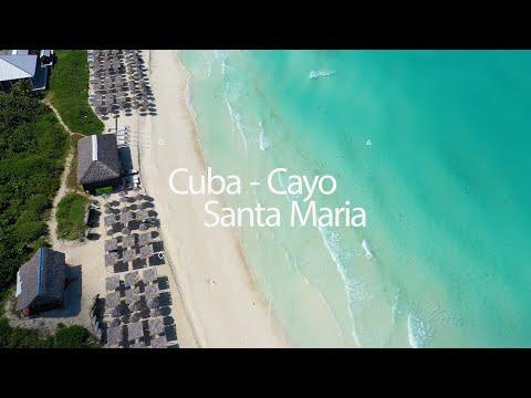 CUBA Cayo Santa Maria Playa Beach Coco 4K Drone Mavic Pro 2