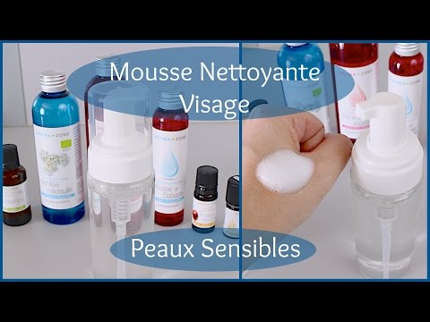 Mousse Nettoyante Visage Peaux Sensibles (DIY)